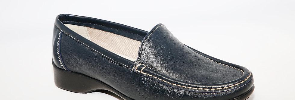 Teresa Torres Navy Loafer