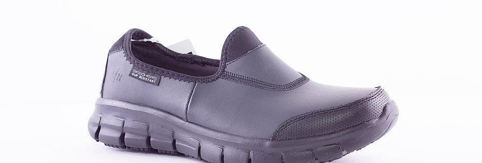 Skechers 76536EC Black Leather