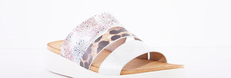 Heavenly Feet Mona Silver Multi