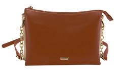 Tan Damara Crossbody Bag