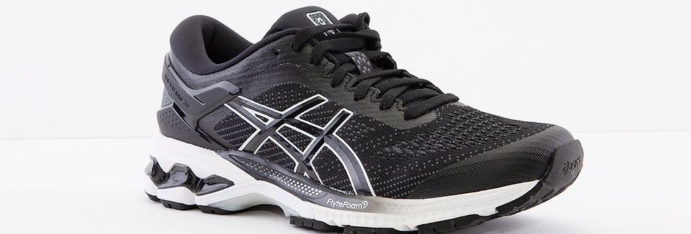 Asics Gel Kayano 26 Black/White