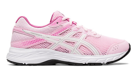 Asics contend 6 pink white