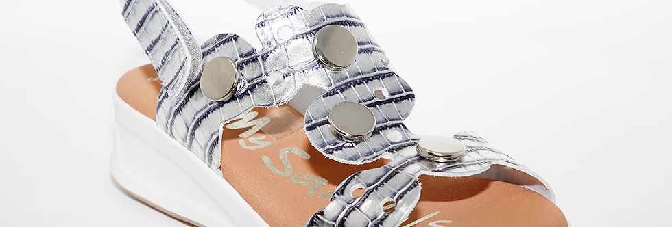 Oh My Sandals 4674 Silver