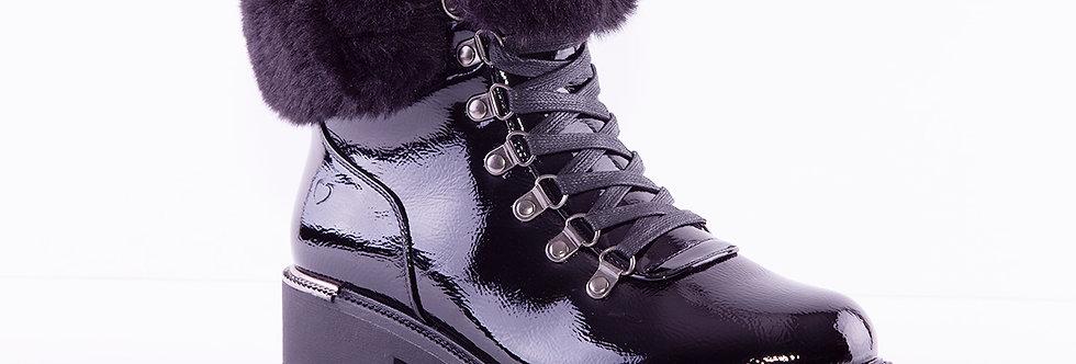 Heavenly Feet Antonia Black Patent