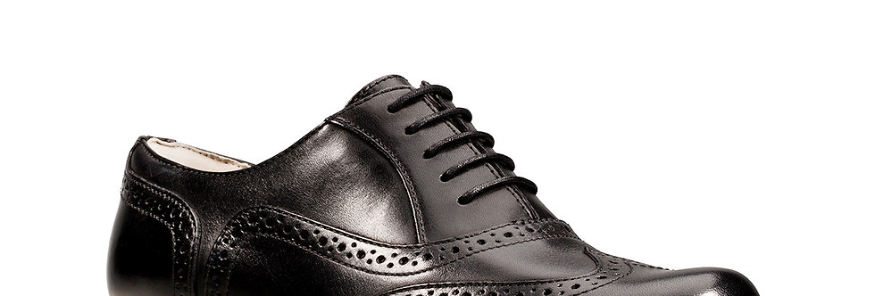 Clarks Hamble Oak Black Leather