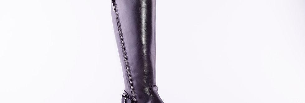 Gianni Crasto 7414 Black Leather