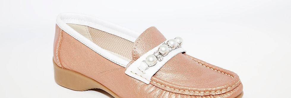 Teresa Torres Nude/White Loafer