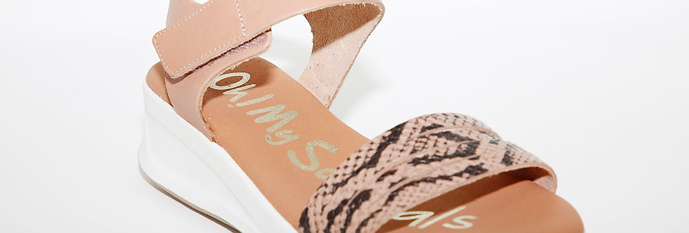 Oh My Sandals 4676 Nude