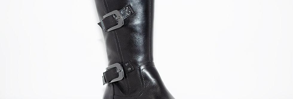 Regarde Le Ciel Roxana-21 Black Leather