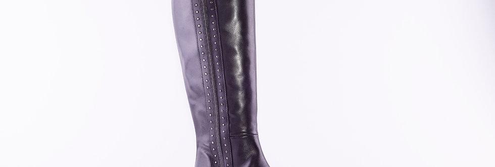 Gianni Crasto 7419 Black Leather