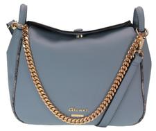 Blue Edan Crossbody Bag