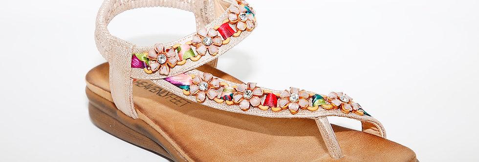 Heavenly Feet Gisela RoseGold