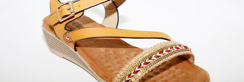 Heavenly Feet Garnet Tan