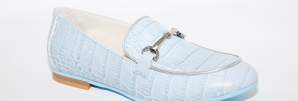 Marco Moreo H892 Blue Loafer