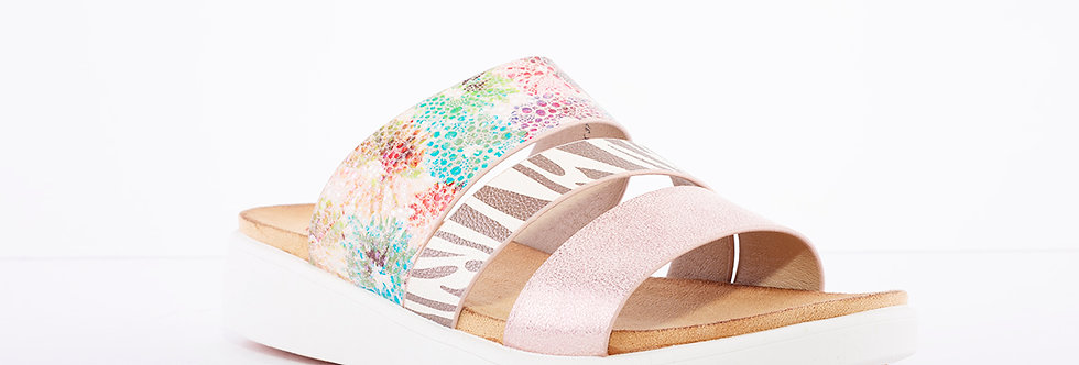 Heavenly Feet Mona Pink Multi