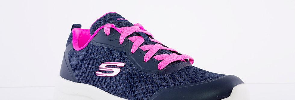 Skechers 149541 Navy/Pink Dynamite