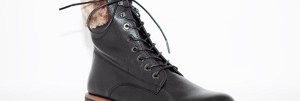 Regarde Le Ciel Nika-08 Black Leather