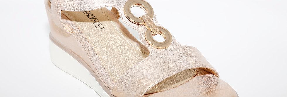 Heavenly Feet Milena Rose Gold