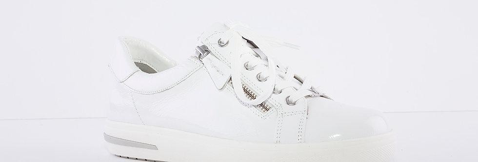Caprice 23753 White Patent