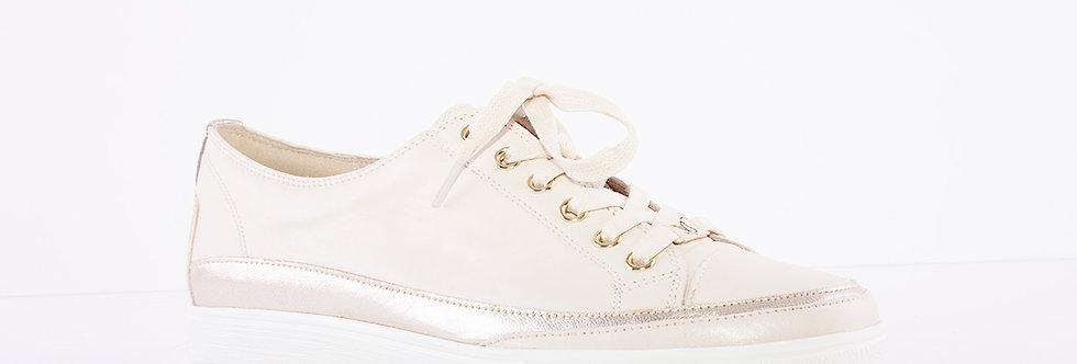 Caprice 23654 Cream Leather