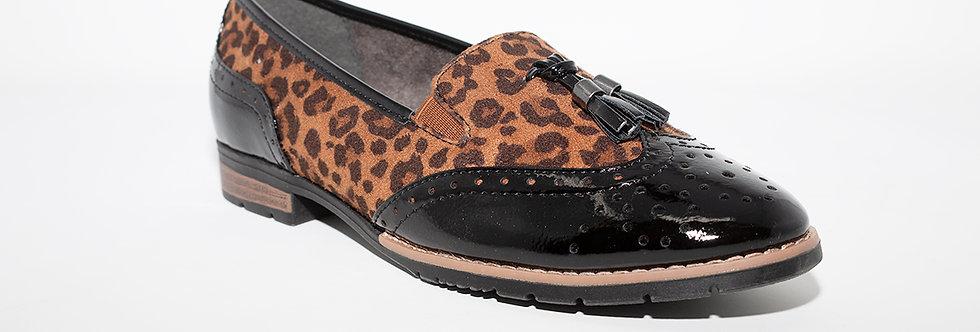 Jana 24260 Black/Leopard