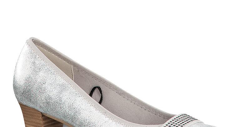 Jana 22464-24 White/Silver