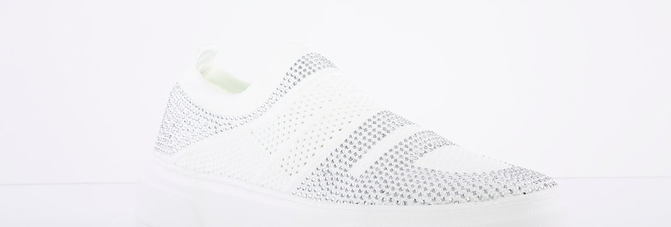 Heavenly Feet Diamond White