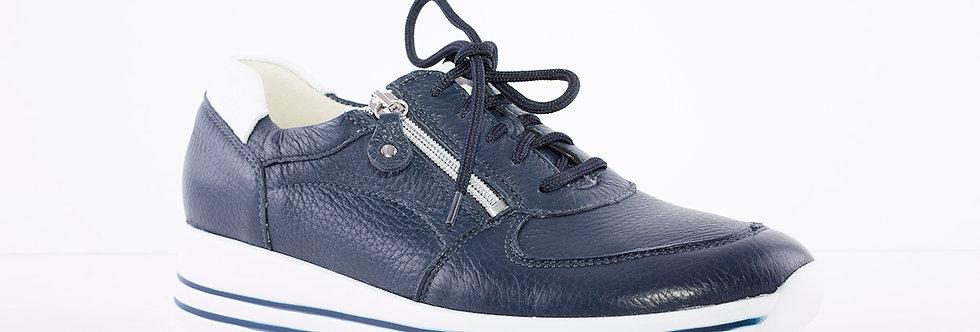 Waldlaufer 758009 Navy Leather