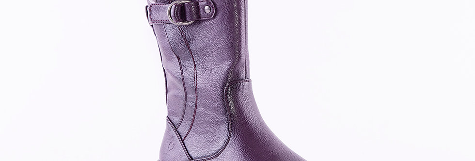 Heavenly Feet Bramble Dark Purple