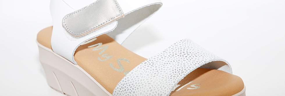 Oh My Sandals 4344 White