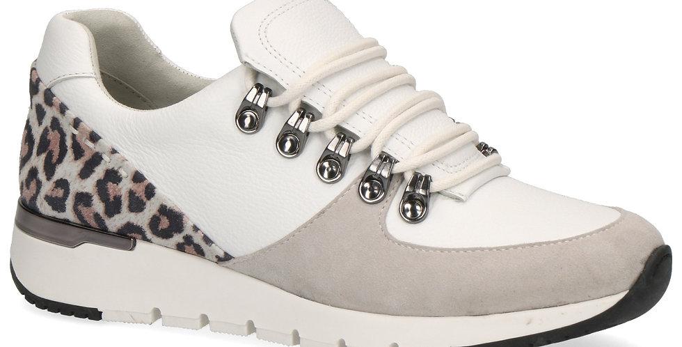 Caprice 23705 White/Leopard