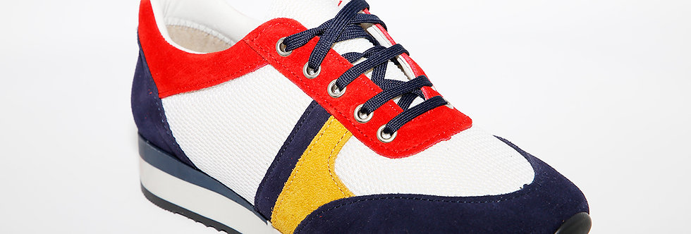 Coral E312 White/Navy/Red