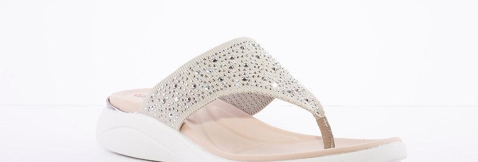Heavenly Feet Rose Grey