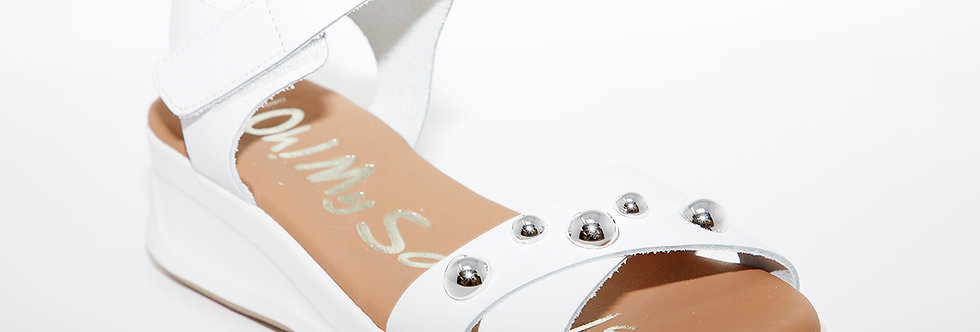 Oh My Sandals 4677 White