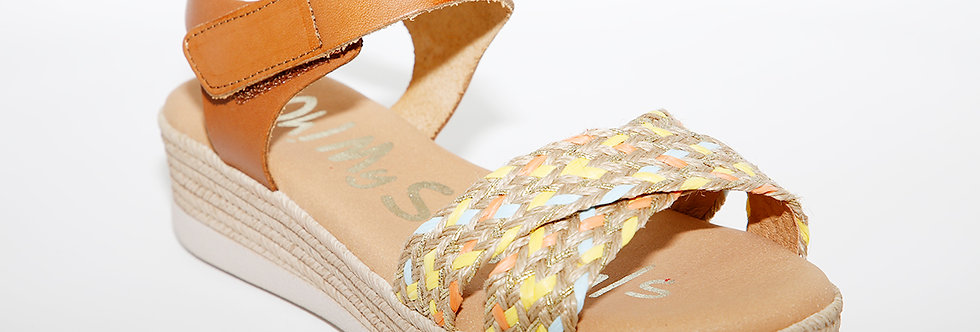 Oh My Sandals 4680 Tan