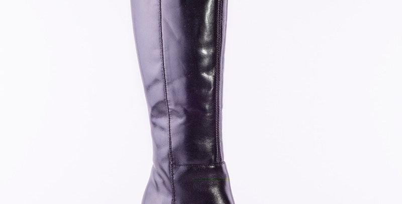 Lamica Esiska Black Leather