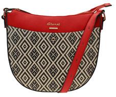 Red Dagari Crossbody Bag
