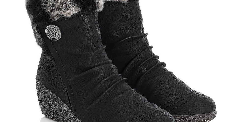 Rieker Y0363-01 Black