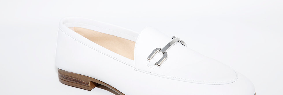 Unisa Dalcy White Loafer