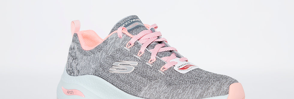 Skechers 149414 Grey/Pink