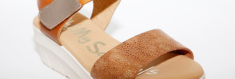 Oh My Sandals 4344 Tan