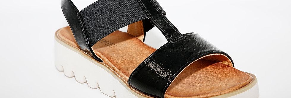 Heavenly Feet Ritz Black Patent