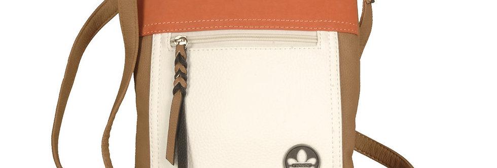 Rieker H1023-20 Brown/White/Orange