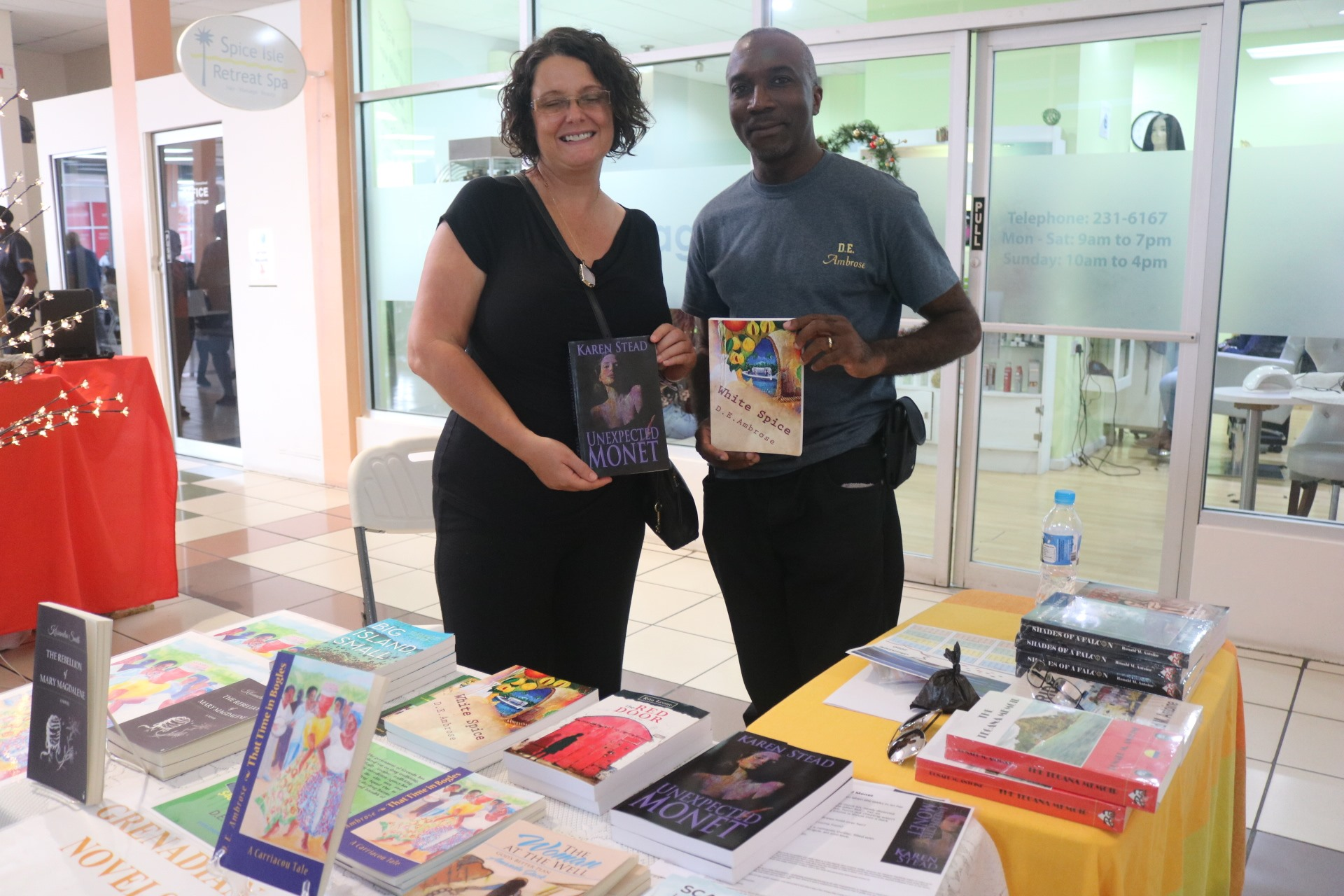 our grenadian books