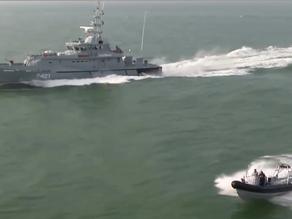 Patrol Boat Victoria on the job