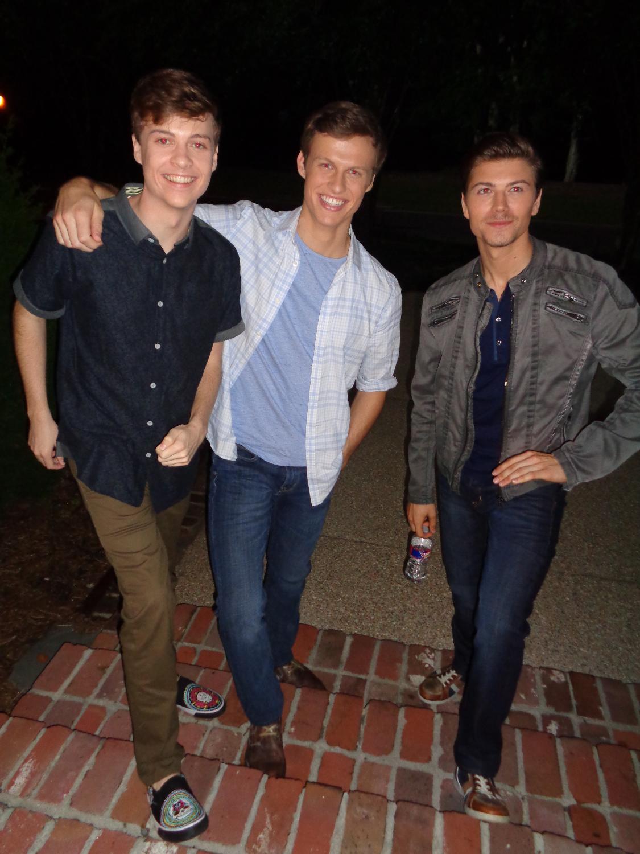 John, Connor, Amadeus