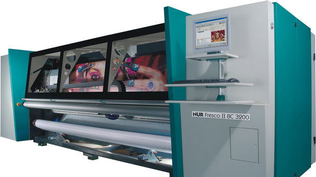 Inkjet macro printer