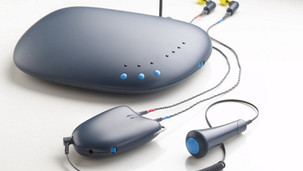Wireless link for audiometric testing