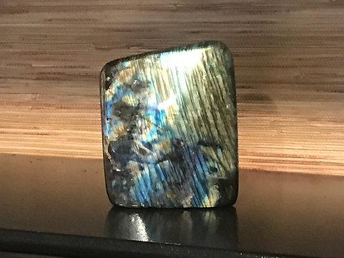 3.65LB Natural Labradorite Quartz Crystal