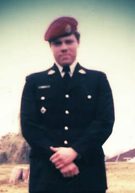 Corporal Rick Fawcett